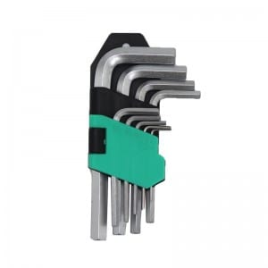 JC1305 9Pcs Short Arm Hex Key Set