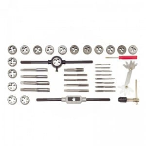 JC1528 40 Piece Tap and Die Set