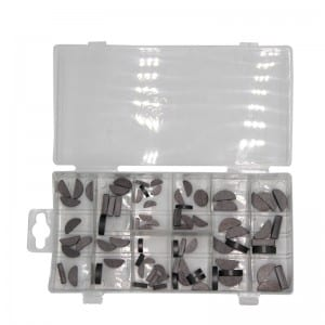 JC8009 80Pcs Woodruff Key Assortment